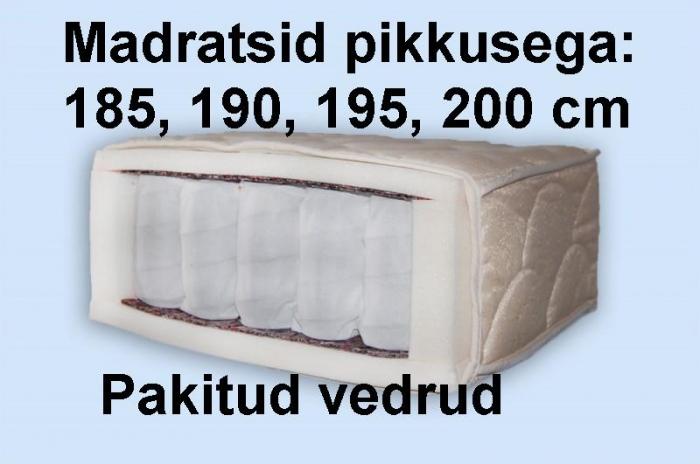Madrats Annika Lambada Pocket pikkusega 185-195 cm